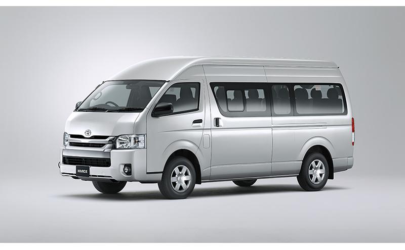 2.5L Bus High roof 15-Seats A/C