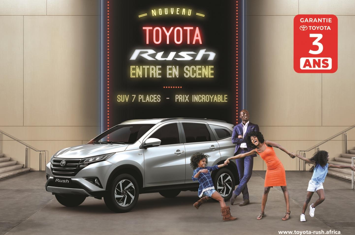 Le Toyota Rush entre en scène